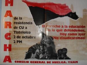 CGH, marcha 2 de octubre 1999
