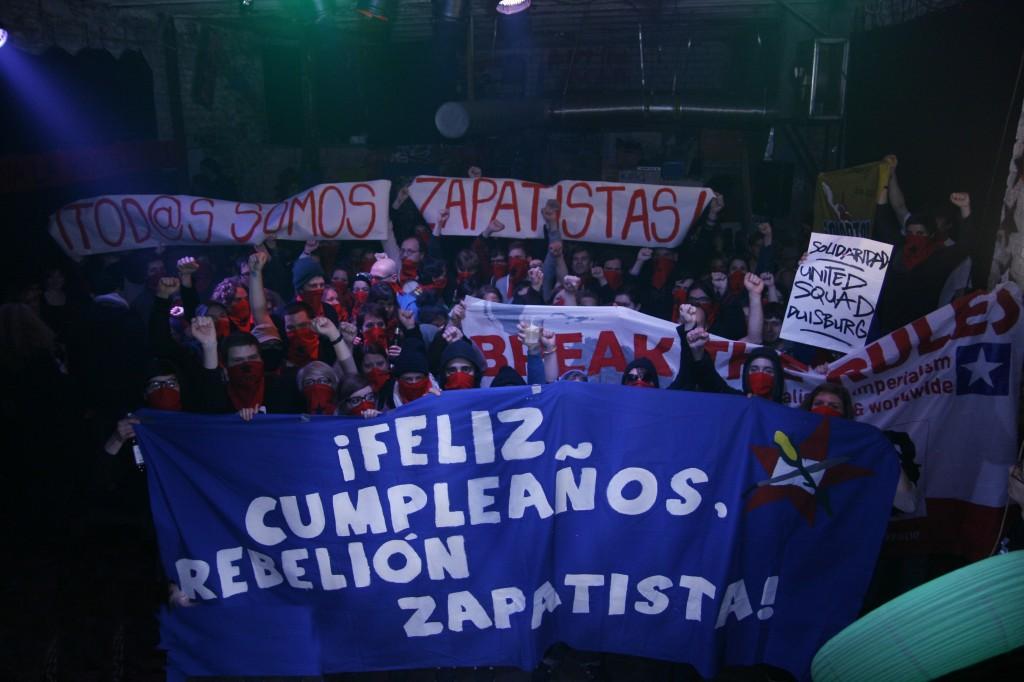 Feliz Cumpleaños Compañeros Zapatistas