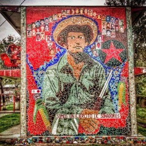 Ayotzinapa. Foto del compa Fidel Báez
