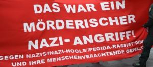 Eso fue un intento de homicidio. ¡Ataque Nazi! Contra Nazis- Holligans-Nazis/PEGIDA Racistas