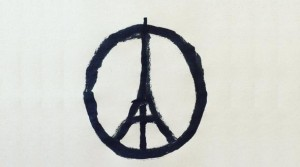 """Peace for Paris""  Jean Jullien"